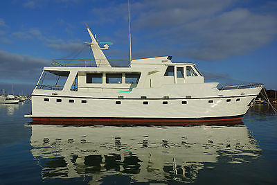 62' Twin Engine Long Range Trawler