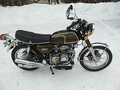 Honda : CB 1973 honda cb 350 cb 350 four original 4 000 miles nice