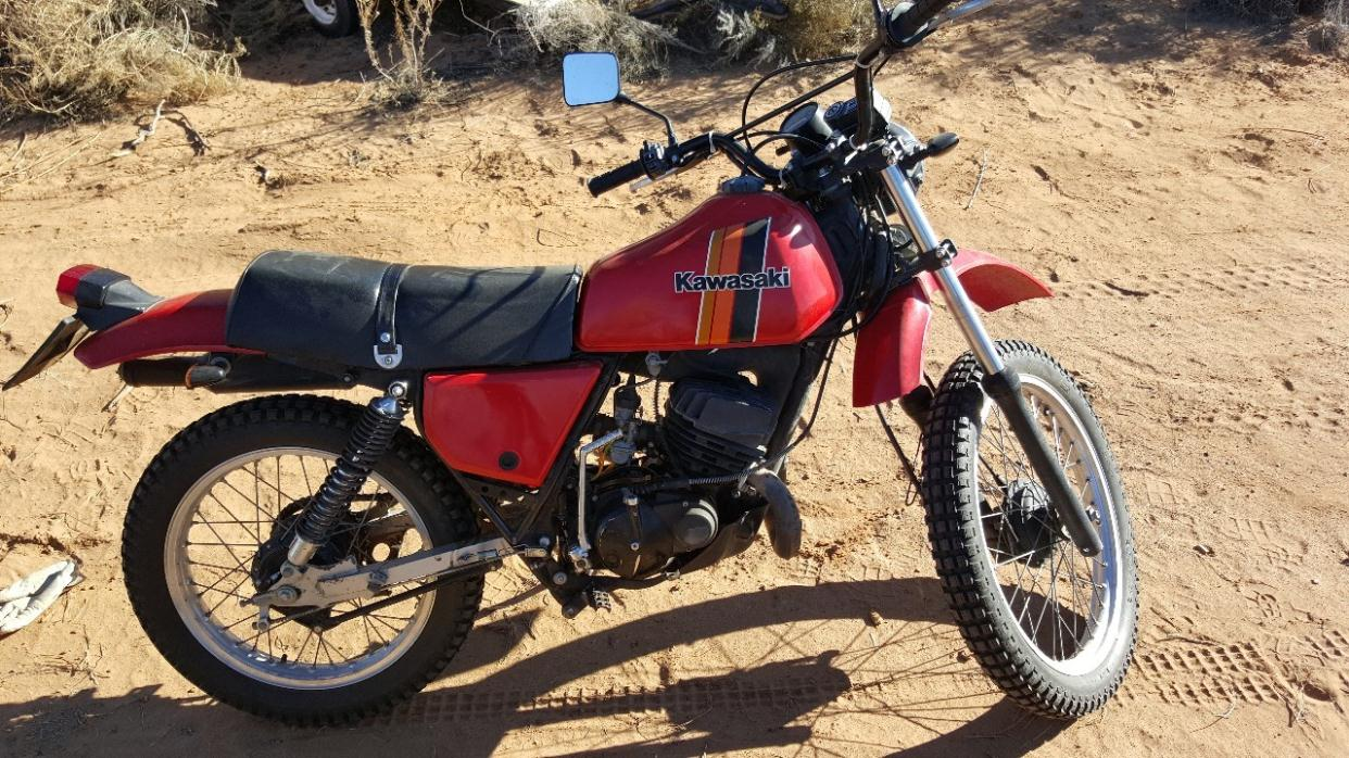 1980 Kawasaki Kdx 175