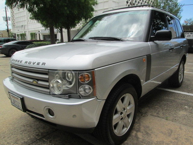 land rover range rover 2004 cars for sale in houston texas. Black Bedroom Furniture Sets. Home Design Ideas
