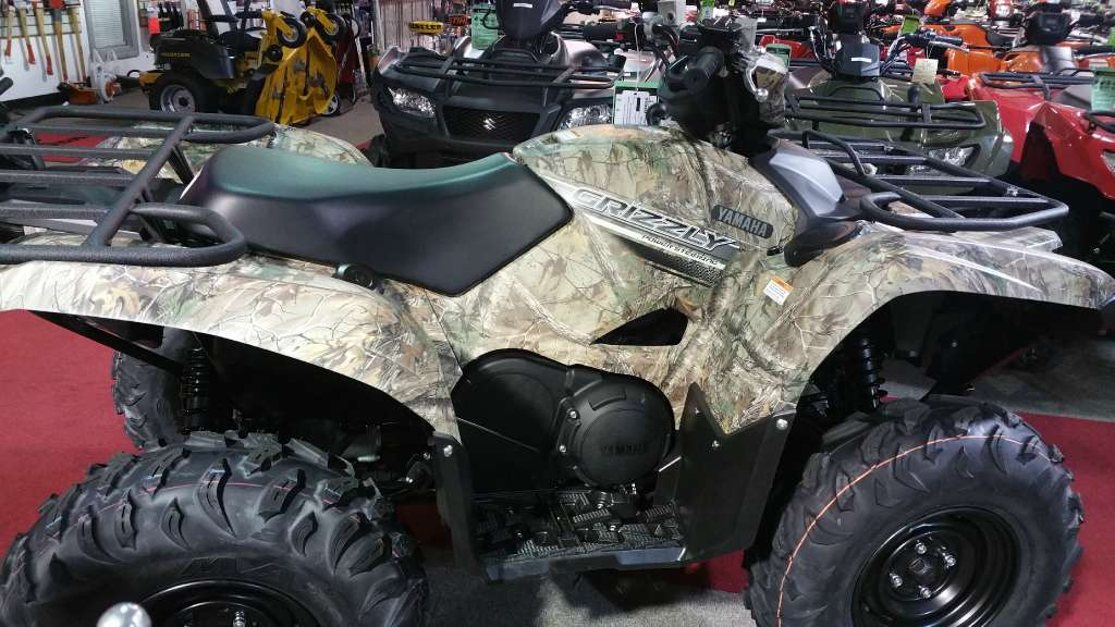 2016 Yamaha Grizzly EPS Camo