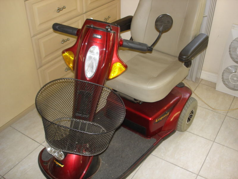 Pride Legend Mobility Scooter 3
