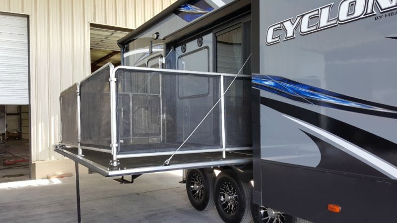 New 2016 Heartland Cyclone 4250 Toy Hauler with Lifetime Warranty
