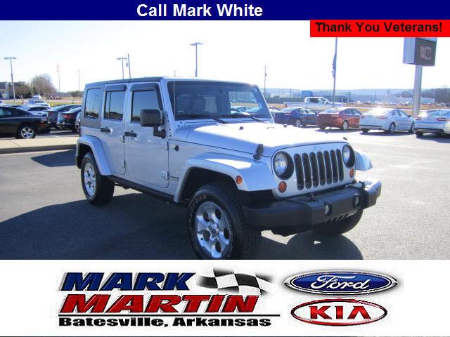 2007 Jeep Wrangler Unlimited 4x4 Sahara 4dr SUV Sahara