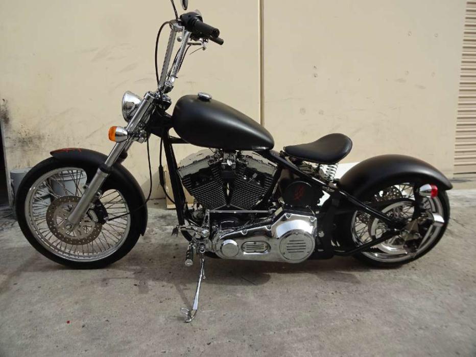 Custom Bobber Softail Custom Build Motorcycles for sale