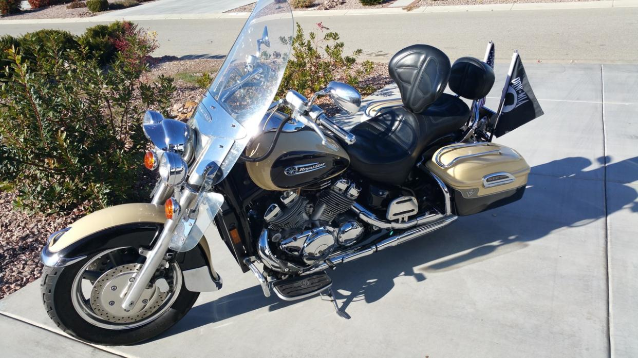 Hard saddle bags with lids motorcycles for sale for Yamaha lancaster ca