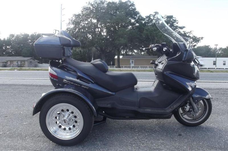 2012 Suzuki Burgman 650cc Executive Trike