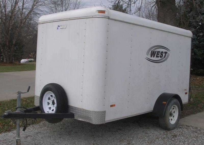 Enclosed Cargo Trailer 6 X 10