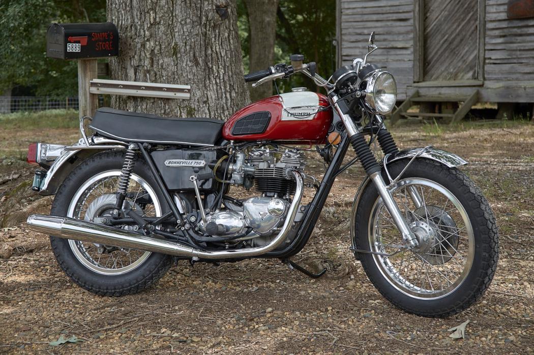 1976 Triumph Bonneville T140