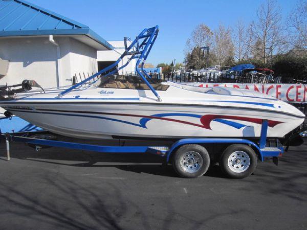 2003 Galaxie Boat Works 22 SKI BANSHEE