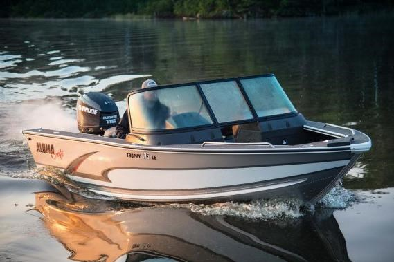 2016 Alumacraft Trophy 175 Sport