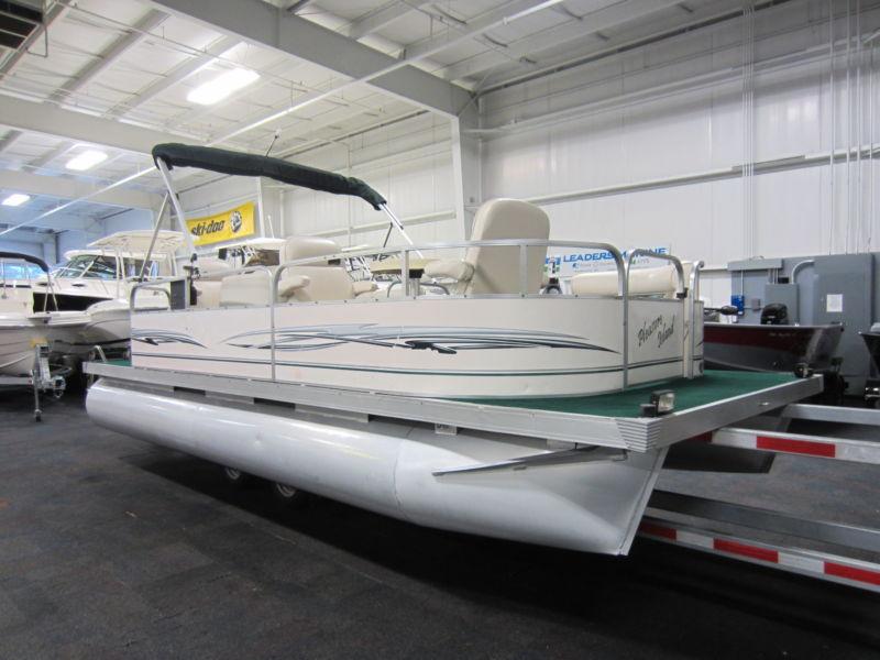 2010 Pleasure Island PL20 CRS 20' Pontoon Boat With Honda 4