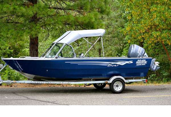 2015 River Hawk Boats 180 Seahawk