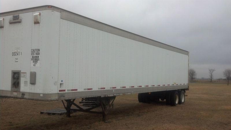 99 Great Dane Semi Trailer Dry Van
