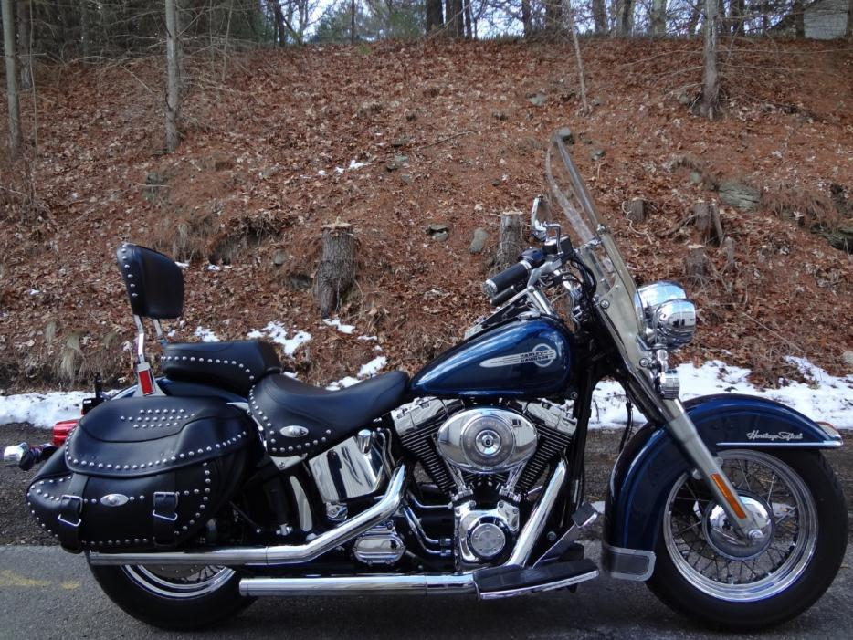 harley davidson flstci heritage softail classic motorcycles for sale in massachusetts. Black Bedroom Furniture Sets. Home Design Ideas