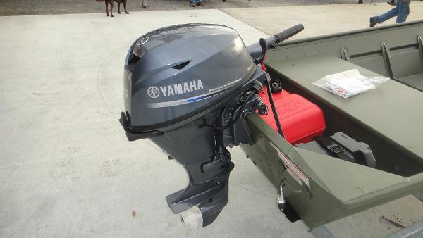 2016 Alumacraft 1436 Jon Boat