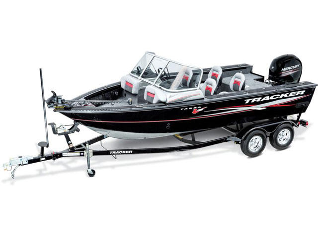 2016 TRACKER BOATS MULTI-SPECIES DEEP V TARGA V-18 WT