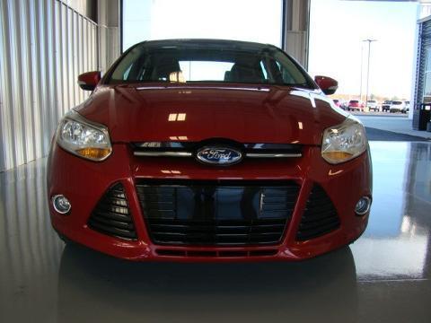 2012 Ford Focus 4 Door Sedan