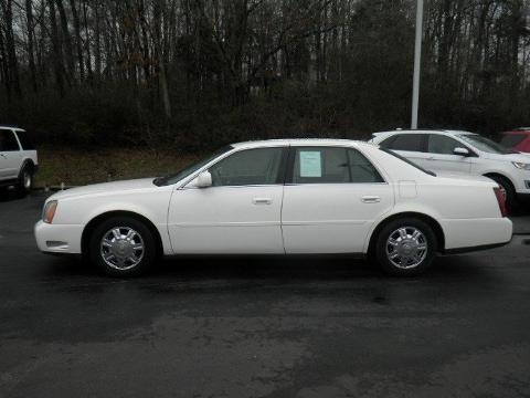 2004 Cadillac DeVille 4 Door Sedan