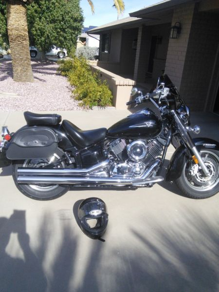 2007 vstar 1100, only 15K miles, excellent condition