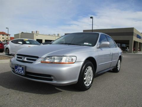 2001 Honda Accord 4 Door Sedan