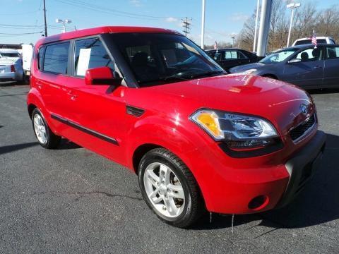 2011 Kia Soul 4 Door Hatchback
