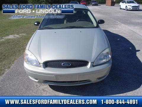 2006 Ford Taurus 4 Door Sedan