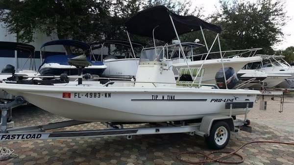 1998 Pro-Line 18 Flats & Bay Boat