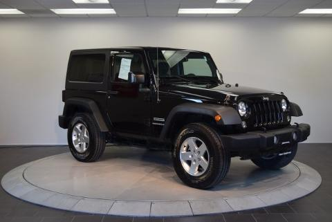 2014 Jeep Wrangler 2 Door SUV