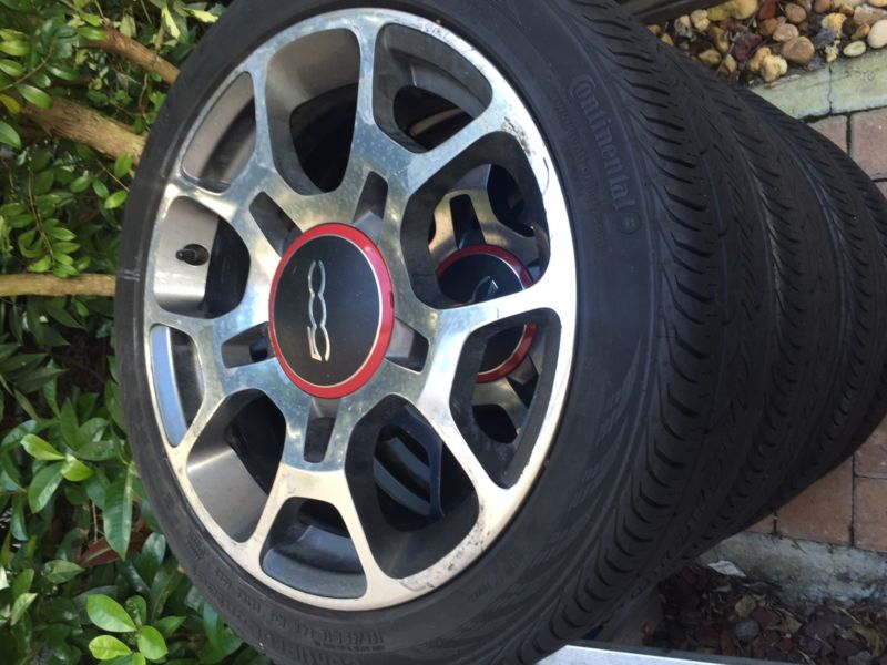 4 Fiat Wheel Wheels and Tire Tires