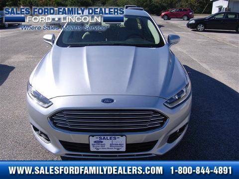 2014 Ford Fusion 4 Door Sedan