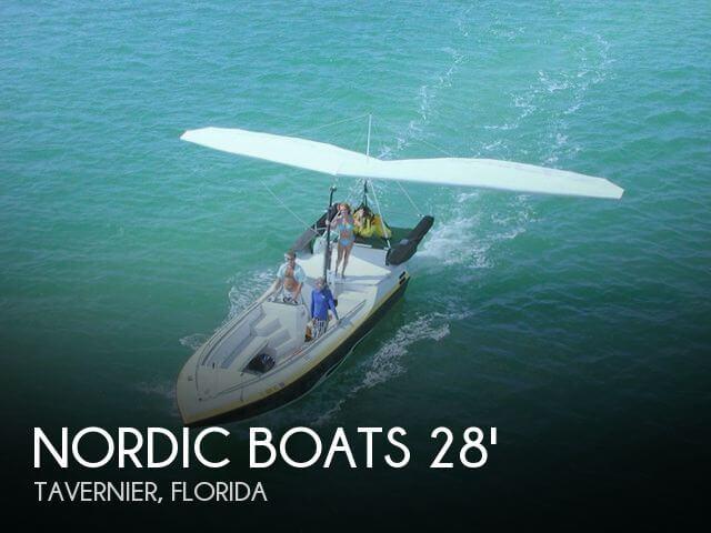 1992 Nordic Boats 28 Ascender Parasail / Hang-Gliding Vessel