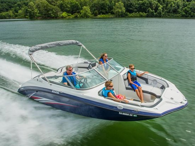 2015 YAMAHA BOATS 21 FT SX210
