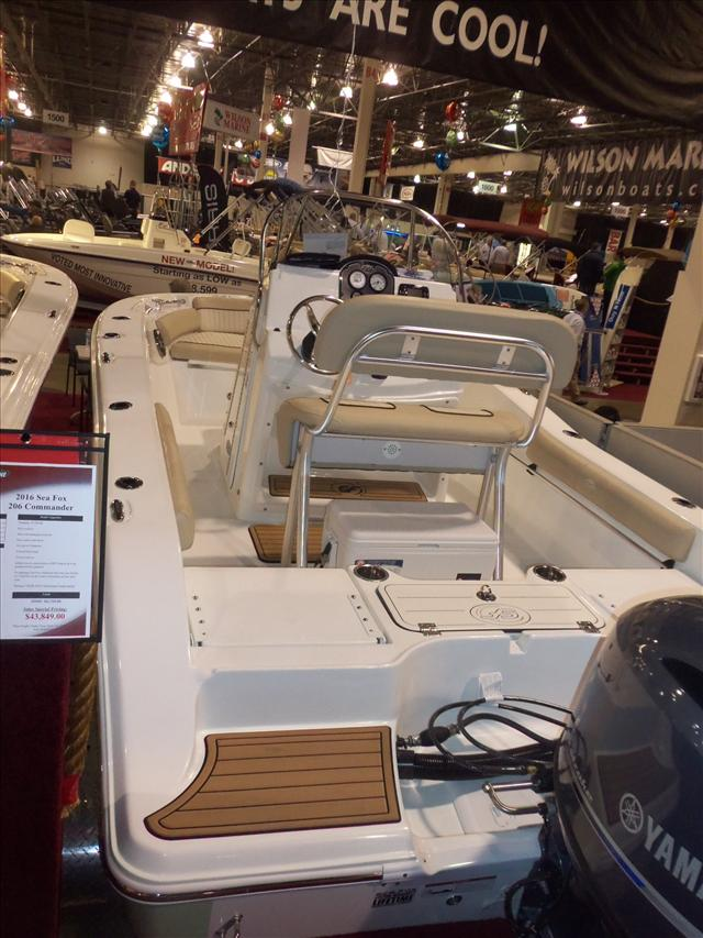 2016 Sea Fox Commander 186 Commander