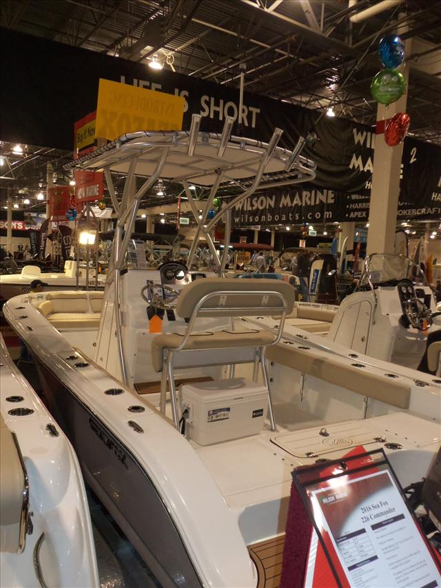 2016 Sea Fox Commander 206 Commander
