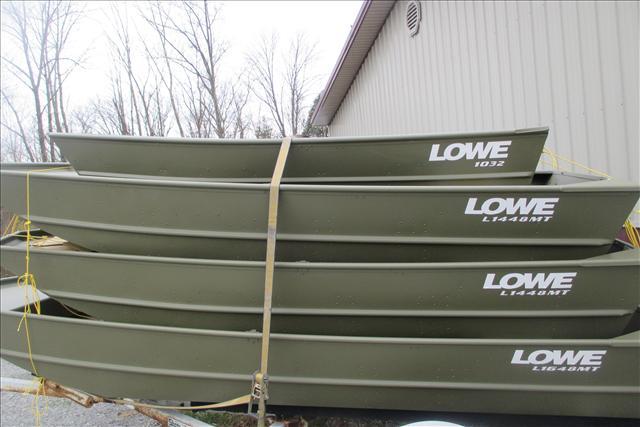 2016 Lowe Jon Boat L1648MT