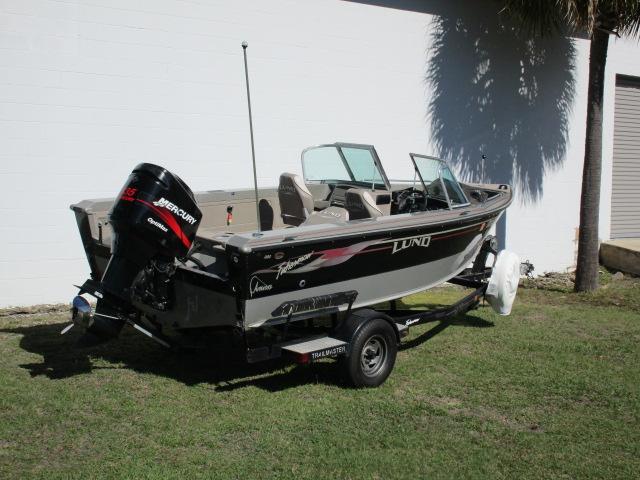 2003 Lund Fishing Boat Fishmaster 1800