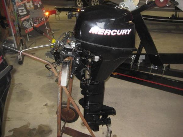 2007 Mercury 9.9EL 4S Engine and Engine Accessories