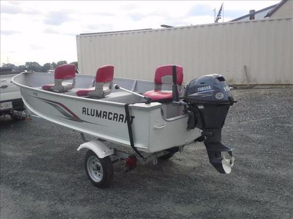 2011 Alumacraft V & T V-14