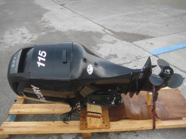 2008 Mercury 115 ELPT EFI Engine and Engine Accessories