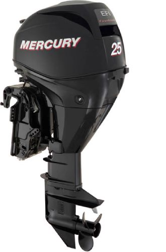 2015 MERCURY 25 HP 4 stroke Engine and Engine Accessories