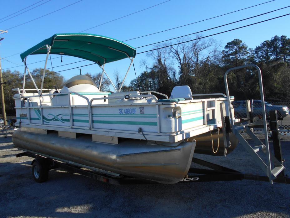 1998 Crest Pontoon Boats for sale