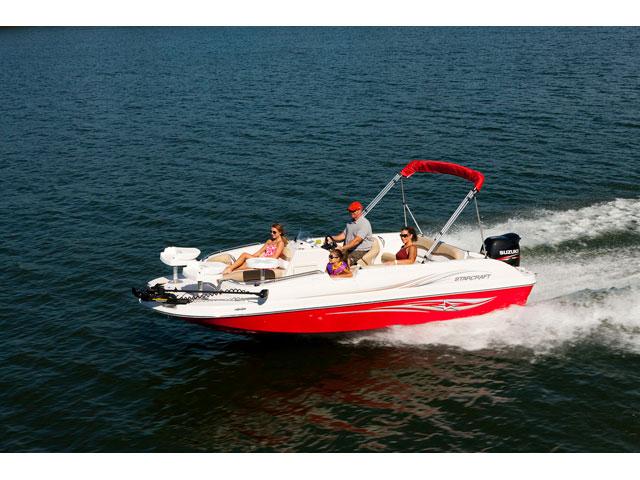 2016 Starcraft Deckboat Limited 2000 OB Fish
