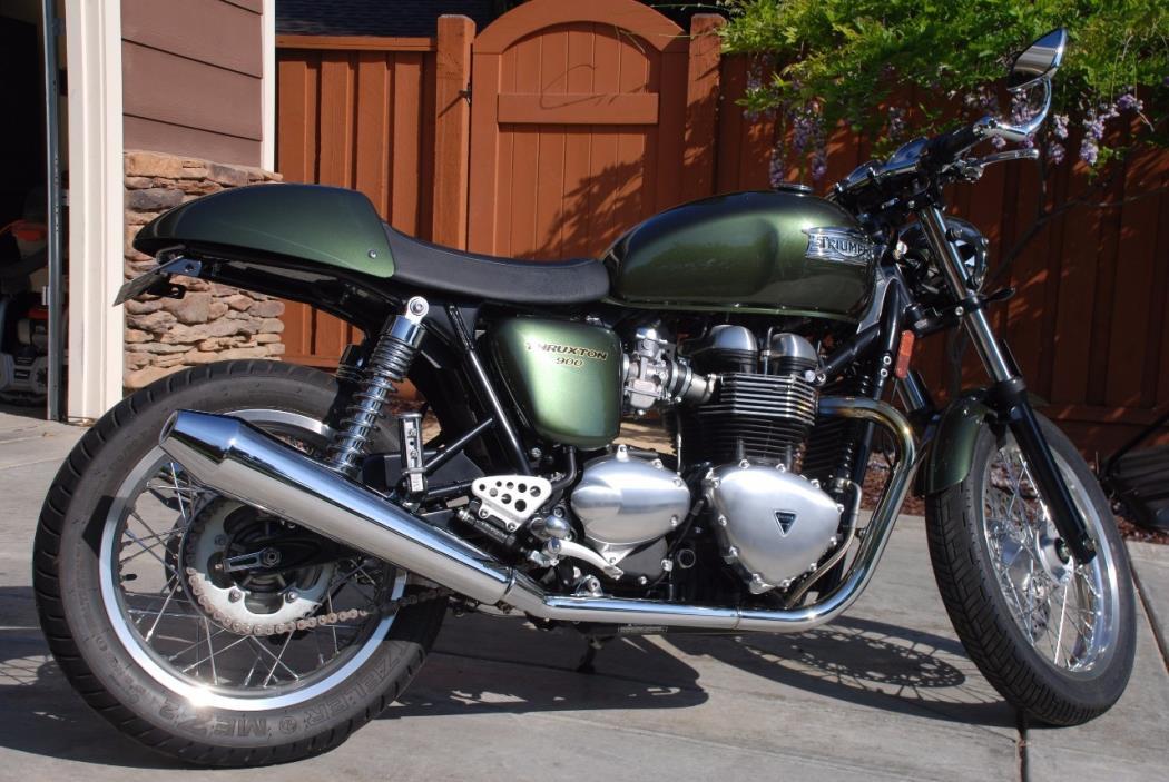 2013 triumph thruxton 900 motorcycles for sale. Black Bedroom Furniture Sets. Home Design Ideas