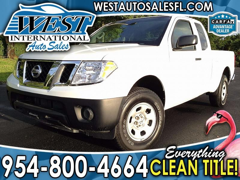 2013 Nissan Frontier 2WD King Cab S Auto