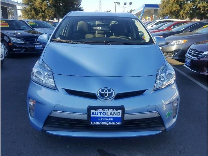 2013 Toyota Prius-Plug-in-Hybrid Hatchback 4D