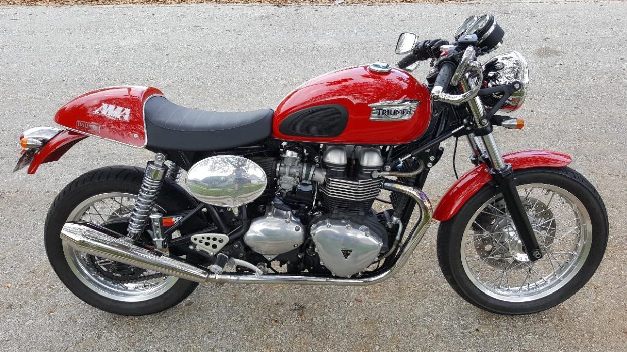 2011 triumph thruxton 900 motorcycles for sale. Black Bedroom Furniture Sets. Home Design Ideas