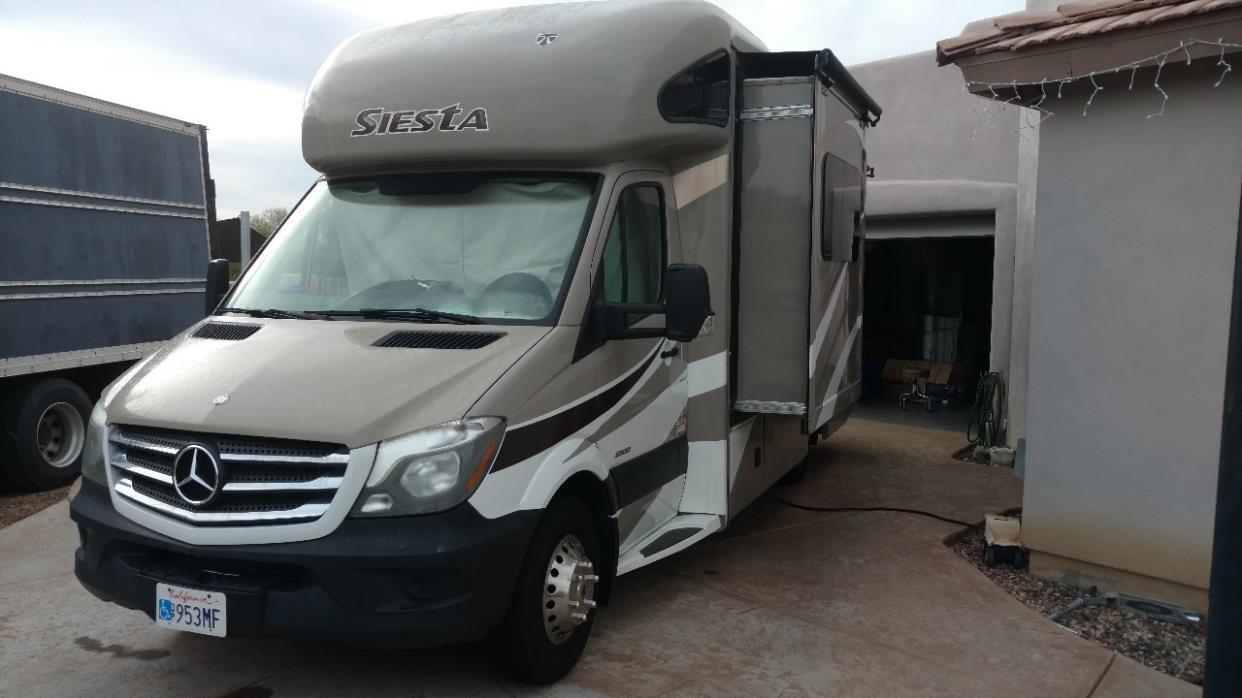 2015 Thor Motor Coach SIESTA 24SR