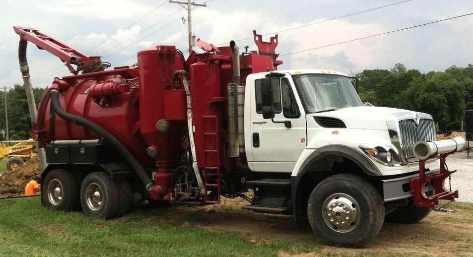 2009 Vac-Con Hydroexcavator Vacuum Truck