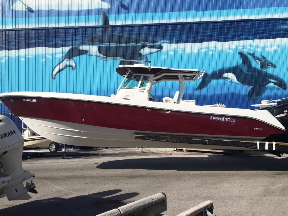2008 EVERGLADES BOATS 350 CC